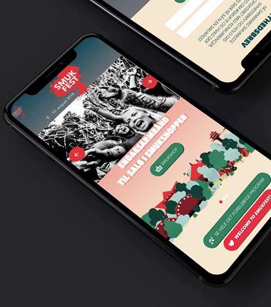 Ny Umbraco-løsning med mobilen som den primære platform